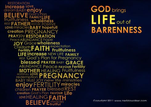 God brings LIFE out of Barrenness